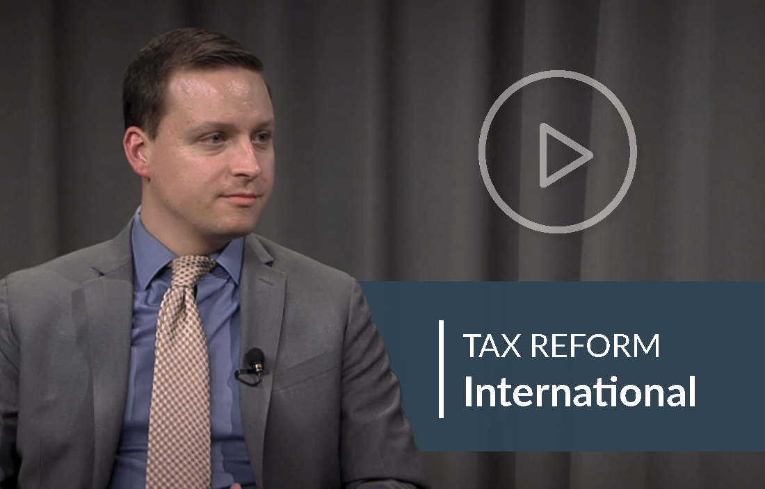 Tax Reform Video about considerations for businesses